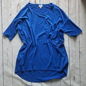 COPY - Small solid blue Irma Tunic